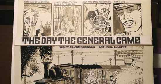 The Day the General Came - with James Robinson