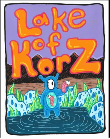 Lake of Korz - part of the World of Knonx