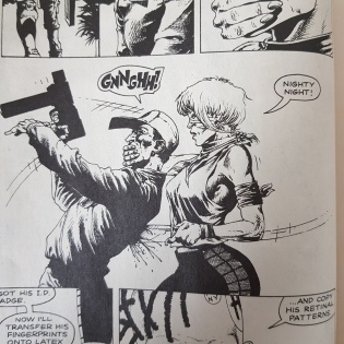 Harlem Heroes art by Steve Dillon