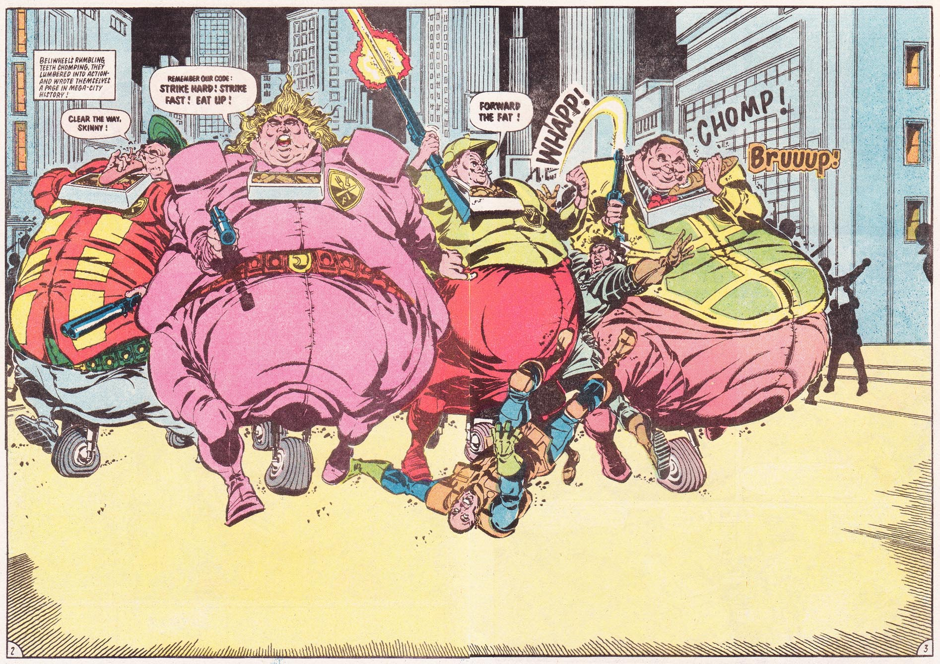The Fatties - Judge Dredd