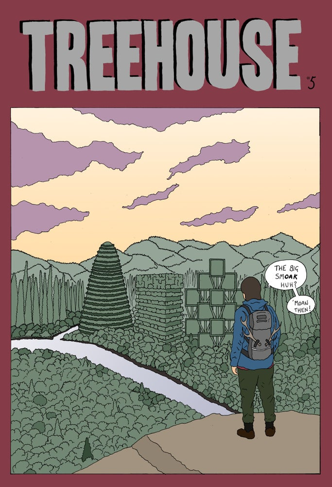 Treehouse issue 5 Cover