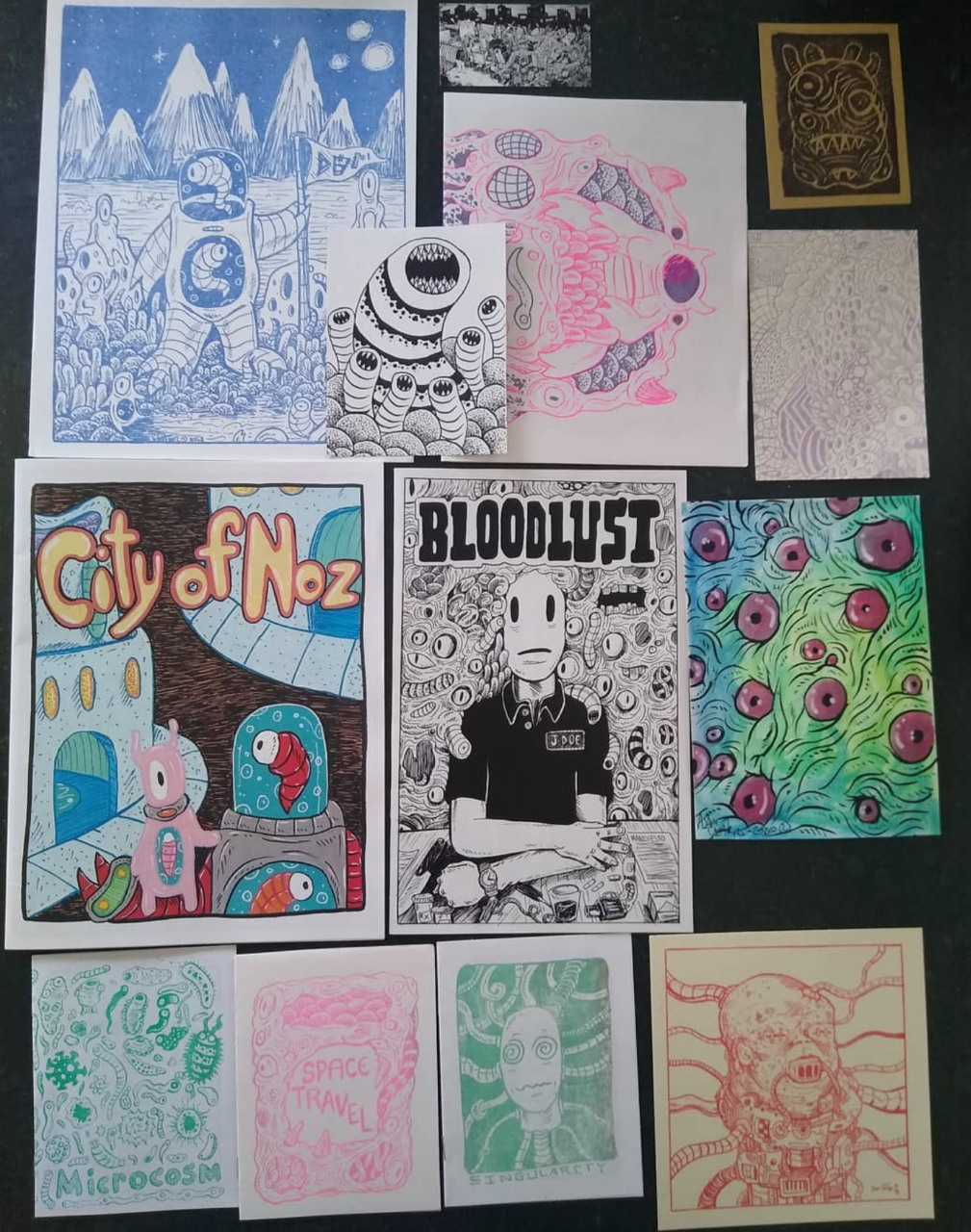 zines and mini-comics